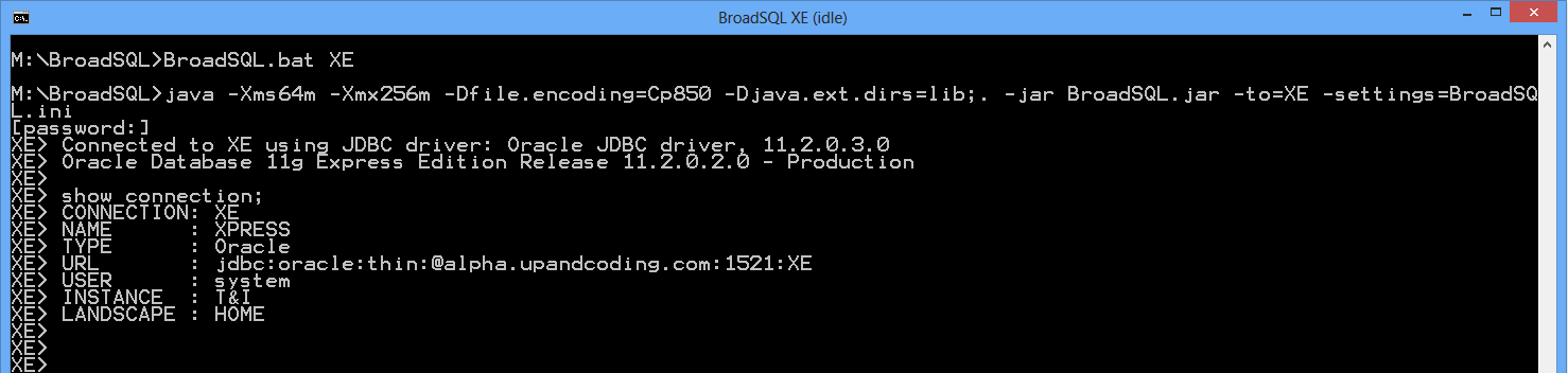 BroadSQL Screen Copy